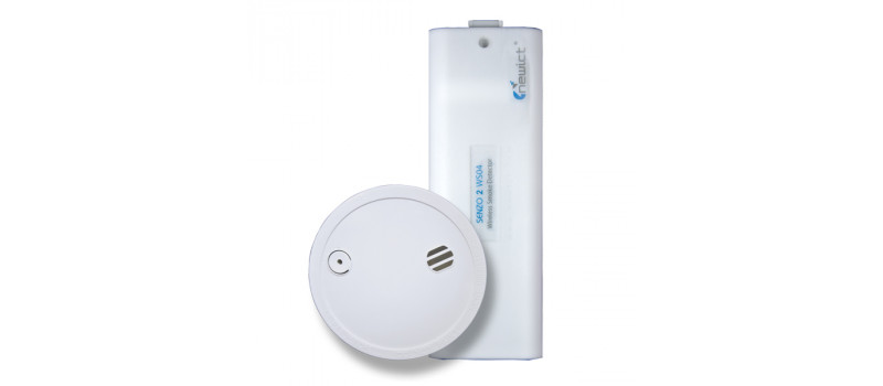 Senzo Wireless Smoke Detector