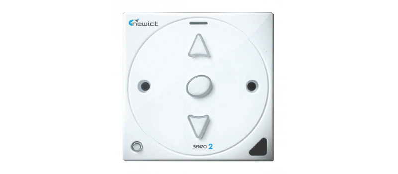 senzo 2 smart switch with 1 dimmer  white
