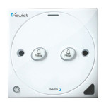 Senzo 2 Smart Switch with 2 Momentary For Folding Autogate (White)
