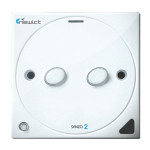 Senzo 2 Smart Switch with 2 On/Off (White)