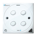 Senzo 2 Smart Switch with 4 On/Off (White)