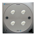 Senzo 2 Smart Switch with 4 On/Off (Silver)