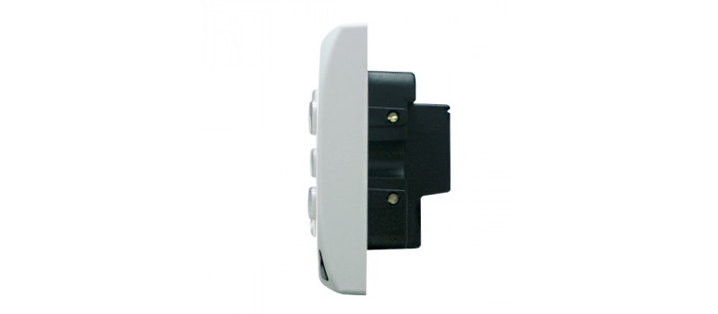 Senzo 2 Smart Switch with 1 Dimmer + 2 On/Off (White)