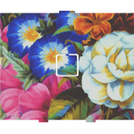Flowers Painting - 1 On/Off